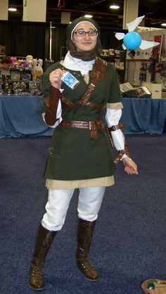 My favorite Link of the weekend at Boston Comic Con.