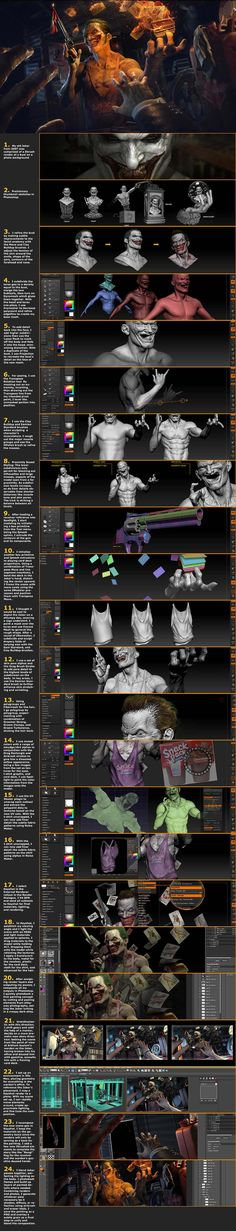 Joker: 3D World Magazine Tutorial