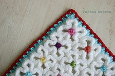 Crazy-Good Mat & Blanket crochet pattern on Ravelry by Felted Button