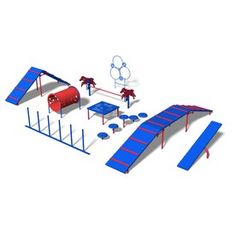 Ultra Play�9-Activity Expert Dog Park Agility Course Kit