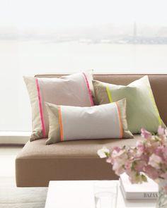Seersucker Pillow Sleeve Project