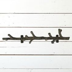 Cast Iron Branch Shaped Wall Hook