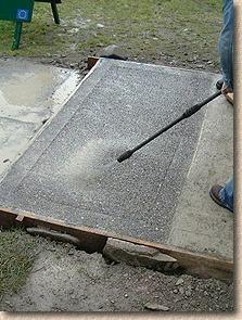 beddgelert exposed aggregate concrete