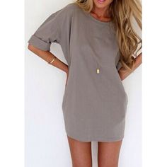 So many ideas with this shirt dress!