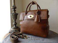 05bb764dfa49 Mulberry Cara Delevingne Bag in Oak Natural Leather - SOLD