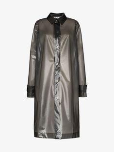 Ten Pieces X Rude Dripping 10 Coat - Farfetch Coat Dress, Shirt Dress, Blouse, Monochrome Color, Size Clothing, Duster Coat, Women Wear, Womens Fashion, Sleeves