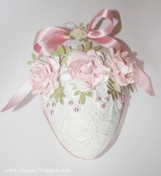 Elina Cardmaking Hobby: Jajo wielknocne/ Easter Egg