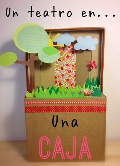 Puppet Theatre, the Ancient Greeks loved theatre. Diy And Crafts, Arts And Crafts, Paper Crafts, School Projects, Projects To Try, Diy For Kids, Crafts For Kids, Diy Cardboard, Diy Toys