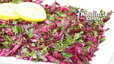 Turşu Tadında Mor Lahana Salatası Tarifi nasıl yapılır? Turşu Tadında Mor Lahana Salatası Tarifi'nin malzemeleri, resimli anlatımı ve yapılışı için tıklayın. Yazar: Sümeyra Temel
