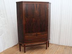 1960's. Danish, Brazilian rosewood. Attributed to Arne Vodder.