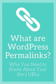 Did you know you have complete control over your WordPress site's URLs? Learn how Permalinks play a role. https://www.nimbusthemes.com/what-are-wordpress-permalinks/