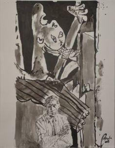 Pablo Picasso 1. Portraits 1. Painters, scene 8)