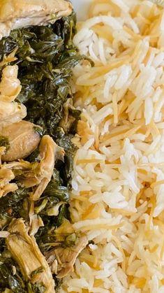 "Rania Issa on Instagram: ""#رز_مفلفل مش ضروري نطبخ كل يوم ممكن نعمل طبخات كبيرة ونقسمها ونحفظها بالفريزر هيدي اكلة ملوخية من اكتر من تلات اسابيع اليوم كنت كتير مضغوطة…"""