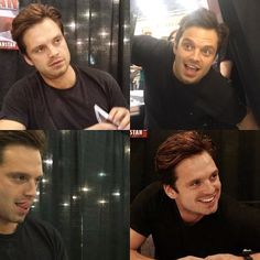 Sebastian life ruiner perfect man Stan. And to think that this is one of 5 cons... He's gonna be attending Sacramento, Chicago, Austin and Tulsa #stopsebstan2k16 #Sebpocalypse