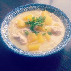 Fiolkowa Przepisownia: Zupa dyniowa z kurczakiem i chili.