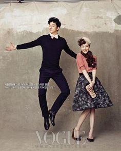 Gong Yoo & Im Soo Jung for Vogue Korea