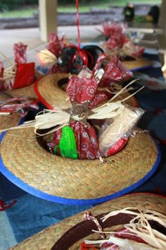 Cowboy birthday party favors  @Stephanie Clift