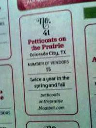 Oh ya! Made it into the Flea Market Style Magazine! Colorado City, Rodeo Queen, Country Fair, Flea Market Style, Petticoats, Vintage Market, Queens, Magazine, How To Make