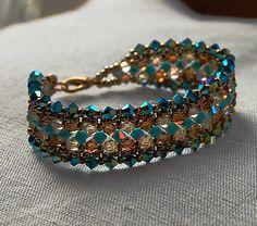 https://flic.kr/p/5BruM8 | Bracelet - turquoise et topaze