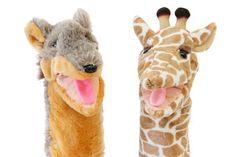 Handpoppen van de jakhals en de giraf. Hoe luister jij naar de ander en jezelf? #geweldloze #communicatie #verbindendcommuniceren