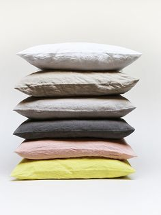 Hawkins Simple Linen Pillows- All Colors