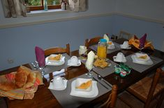 Typical Breakfast for B&B guests