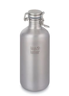 Our Stainless Steel Beer Growler is the best beer growler to take to the brewery and back to your home fridge. Comes with our Swing Lok® Stainless Steel Cap which holds the pressure and keeps beer fresh. Our largest and most popular beer growler. Stainless Steel Growler, Stainless Steel Tubing, Stainless Steel Water Bottle, Canteen Bottle, Beer Growler, Carbonated Drinks, Reusable Water Bottles, Best Beer, Bottle Holders