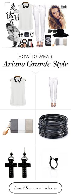 """Untitled #471"" by yana-dulina on Polyvore featuring Citizen of Humanity, Chanel, Zimmermann, Tarina Tarantino, ABS by Allen Schwartz and Laura Geller"