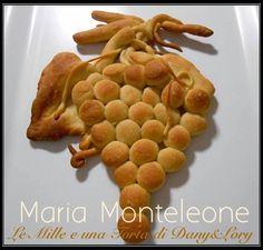 Le Mille e una Torta di Dany&Lory: grappolo di pasta brioche