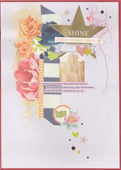 Layout by Jot Girl Amanda Hall for our April Mood Board
