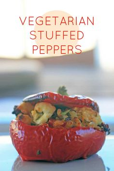 #Vegetarian Stuffed