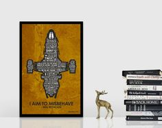 Firefly Serenity Inspired Quote Poster  11 x 17 by UnikoIdeas, $18.00 Go, Browncoats!