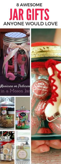 Looking to gift someone the perfect gift? Then these DIY Jar Gifts will do the trick! Find awesome jar gift ideas for a friend, parent, boyfriend, girlfriend and more. These gifts will definitely ensure a huge smile!