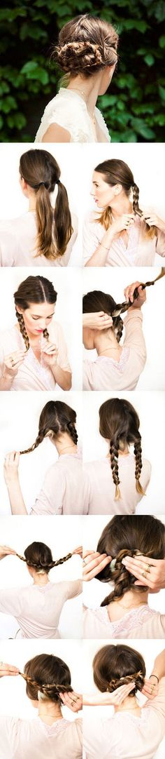 DIY: 10 chignons et coiffures à faire soi-même