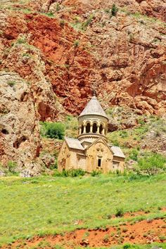 "Noravank, Armenia. Meaning ""New Monastery"" in Armenian, this 13th century monastery is located near the city of Yeghegnadzor, Armenia."