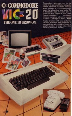 Commodore VIC-20 print advertisement