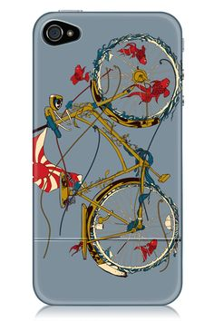 Cycling Fish iPhone 4/4S Case
