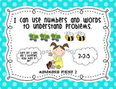 Mrs. Ricca's Kindergarten: Common Core Standards freebie