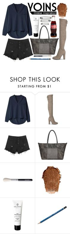 """YOINS 5.1"" by katerin4e-d ❤ liked on Polyvore featuring DELAROM, yoins and yoinscollection"