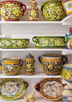 L'Oasi Ceramiche - Anacapri, Italy.