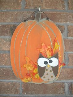 pumpkin / owl