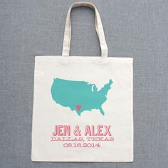 Include the city and state on welcome bags for the hotel guests because it is a trip for them!
