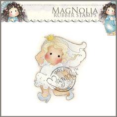 Magnolia Rubber Stamp - SM13 Runaway Bride Tilda
