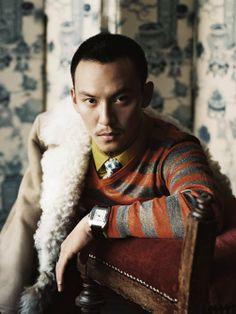 Taiwanese actor Chang Chen