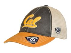 Cal Bears Top of the World Navy Yellow Offroad Adj Snapback Hat Cap