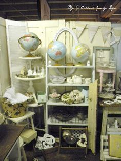My So Called Junky Life: Antique Booth Pictures - September