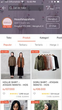 Best Online Clothing Stores, Online Shopping Sites, Online Shopping Clothes, Hijab Fashion, Korean Fashion, Fashion Outfits, Online Shop Baju, Cheap Stores, Instagram Frame