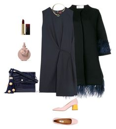 """""""Untitled #775"""" by fufuun ❤ liked on Polyvore featuring Acne Studios, Elizabeth and James, Miista and By Malene Birger"""