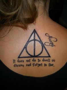 If i was ever to get a tatoo harry potter themed it would be Hp Tattoo, Piercing Tattoo, Tattoo Quotes, Piercings, Urban Threads, Love Tattoos, Tatoos, Exotic Tattoos, Awesome Tattoos