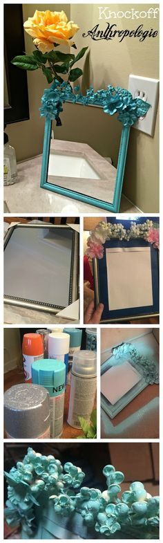 The Food Hussy!: DIY: Knockoff Anthropologie Mirror (Just $4!)